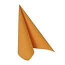 50 Servietten ROYAL Collection 1/4-Falz 40cm x 40cm orange
