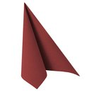50 Servietten ROYAL Collection 1/4-Falz 40cm x 40cm bordeaux